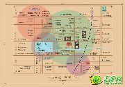 三奕润城的区位图