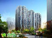 三奕润城的26高层住宅效果图
