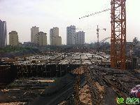 七里河佳洲美地地下车库实景(2014.8.15)