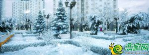 香悦四季冬季效果图