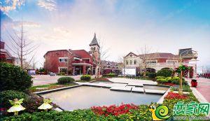 碧桂园示范区实景图