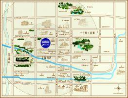 绿城诚园区位图