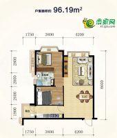 96.19公寓户型