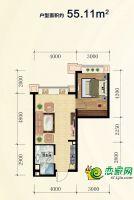 55.11公寓户型