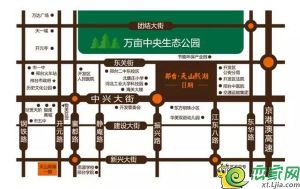 邢台天山熙湖二期区位图