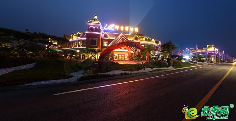 夜景销售中心全景图