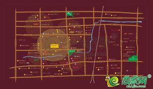 七拾九號院的区位图