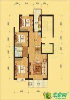 邢台美林湾3室2厅1卫,约118平米