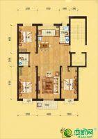 邢台美林湾3室2厅2卫,约125平米