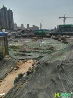 恒大悦府工地实景图(2018.06.06拍摄)