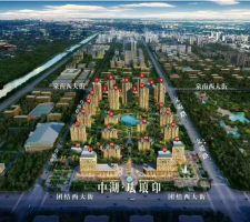 中湖·珐琅印鸟瞰图