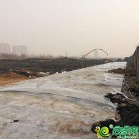 万腾御景城工地已经平整 预计年后进场施工