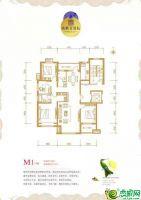 M1户型图