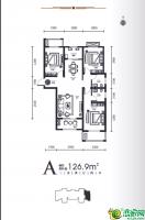 10#11#楼-A户型图126.9㎡