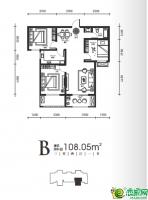 10#11#楼高层-B户型108.05㎡