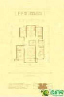 F户型181.59㎡四室两厅三卫