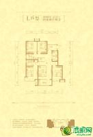 L户型137.37㎡四室两厅两卫