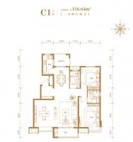 邢台百合雅筑3室2厅2卫