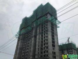 35#楼主体结构已封顶