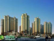 星海国际沿人民东路透视图