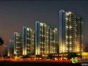正商城的夜景图