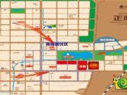 正商城的项目区位图
