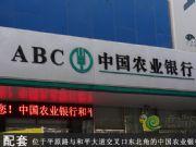 位于平原路与和平大道交叉口东北角的中国农业银行
