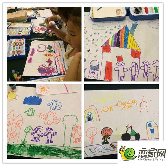 上宅杯我和我的幸福家园少儿绘画大赛第一场