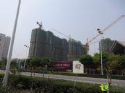 宝龙城市广场施工现场