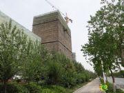 发展红星城市广场公寓楼紧张施工中(2014年5月27日)