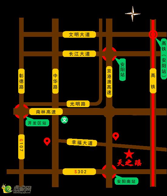 鹤壁107路线图
