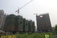 发展红星城市广场1#、4#楼项目进度