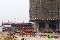 发展红星城市广场施工现场