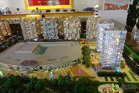 宝龙城市广场沙盘实景图