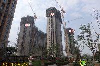 建业壹号城邦8#、9#、10#楼项目进度