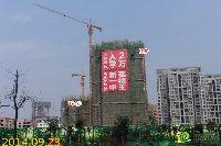 绿都枫景上东1#、12#楼项目进度