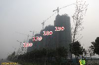 正商城16#、17#、18#、19#楼项目进度