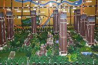 中波褐石公园沙盘
