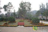 中波褐石公园美景