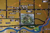 中波褐石公园营销中心区位图