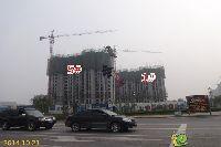 华天公馆1#、5#楼工程进度