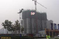 华天公馆5#楼工程进度