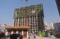 新科状元城4#楼项目建到18层左右
