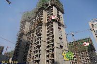 新科状元城2#、4#楼建设到18层左右