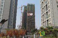 绿都枫景上东12#楼即将封顶
