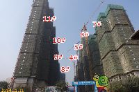 宝龙城市广场4#、5#、6#、7#、8#、9#、10#、11#楼项目进度