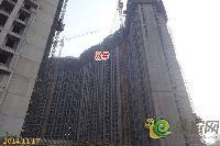 建业壹号城邦8#楼项目进度