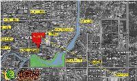 中波褐石公园项目方位图