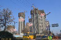 建业壹号城邦8#、9#、10#、12#楼项目进度