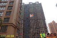 发展红星城市广场二期施工进度